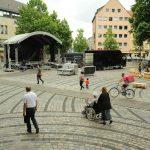 Aufbau auf dem Jakobsplatz