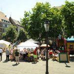 Hüpfburg, Malaktion und Erzählkiosk
