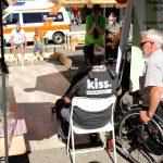 Aktion Kegelschiene Muskelkranker Ansbach