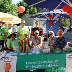 Infostand Deutsche Gesellschaft für Muskelkanke e.V.