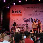 Leila Akinyis Auftritt auf der Bühne
